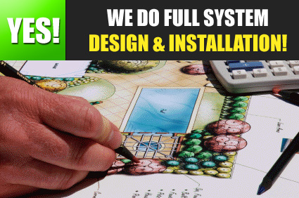 our team does full system design and installation